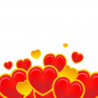 Red hearts — Stock Vector #1625192