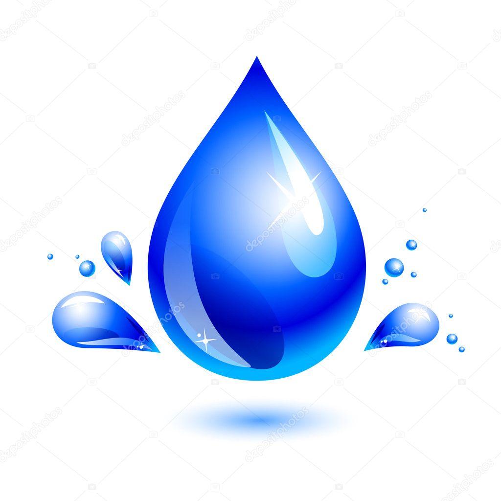 Как сделать капельки воды на