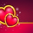Valentines day background — Stock Vector #38957849