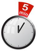 Clock, timer — Stock Vector