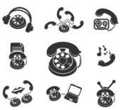 Symbol of Phone — Stock Vector