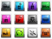 Logistics icons — Vecteur