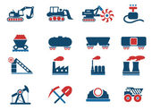 Factory and Industry Symbols — Stockvektor