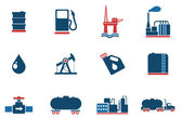 Factory and Industry Symbols — Stockvector