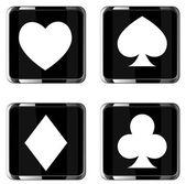 Casino elements — Stockvektor
