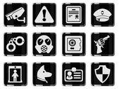 Security symbols — Stock Vector