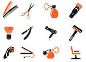Barbershop symbols — Stock Vector