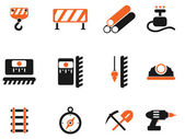 Symbols of building equipment — Stock Vector