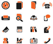 Business simple vector icons — Stock Vector