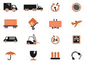 Cargo shipping symbols — Stock Vector
