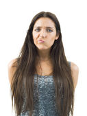 Funny young woman — Stock Photo