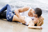 Sexy couple passion — Stock Photo