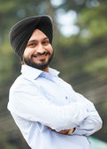 Young adult indian sikh man — Stock Photo