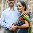 Happy indian adult couple — Stock Photo