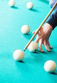 Snooker billiard game — Stock Photo