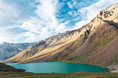 Himalayas mountains in india spiti valley — Stock Photo