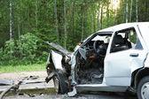 Araba smash — Stok fotoğraf