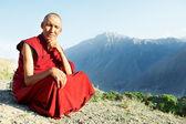 Dwóch indyjskich mnicha tybetańskiego lamy — Zdjęcie stockowe