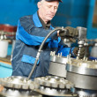 Experienced industrial assembler worker - Stock Photo