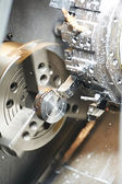 Metal blank machining process — Stockfoto