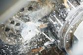 Vuoto di processo di lavorazione del metallo — Foto Stock