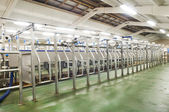 Dairy milking system farm — Stock Photo