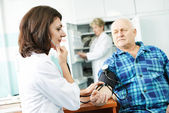 Blood pressure medic test — Stock Photo