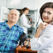 Royalty-Free Stock Photo: Blood pressure medic test