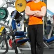 Bodybuilder fitness man coach - Stock Photo