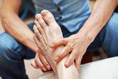 Foot massage — Stock Photo