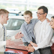 Stock Photo: Car selling or auto buying