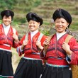 Smiling chinese minority womYao — Stock Photo #28551811