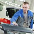 Stock Photo: Automobile car body check