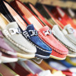 Shoes in a shop — Stock Photo #30923375