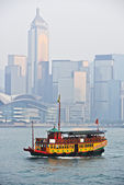 Daylight view on Hong Kong island — Stock Photo