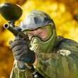 paintball player — Stock Photo #31180073