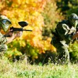 Two paintball players — Stock Photo #31180083