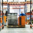 Warehouse truck works — Stock Photo #3247608