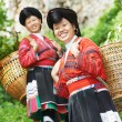 Smiling chinese minority womYao — Stock Photo #32721009