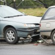 Stock Photo: Car crash collision