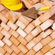 Construction bricklayer tools — Stock Photo #33303457