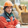 Construction builder worker portrait — Stock Photo #33303583