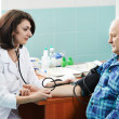 Blood pressure medic test — Foto Stock