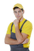 House worker portrait — Stock Photo