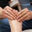 Foot massage — Stock Photo