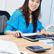 Foto de Stock  : Chinese office manager woman