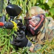 Paintball player — Stockfoto #36599671