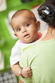 Indian baby child — Stock Photo