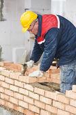 建設メイソン労働者職人 — ストック写真