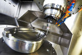 Industrial metrology probe tool work — Stock fotografie